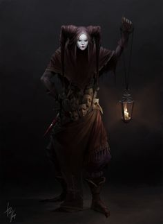 f Tiefling Rogue Assassin Lt Armor Daggers Poison Masks Lantern urban City Castle undercity underdark Carnival of Venice med Fantasy Character Design, Character Concept, Character Inspiration, Character Art, Concept Art, Game Concept, Fantasy Rpg, Dark Fantasy Art, Dark Art