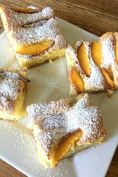 Easy Summer Old Fashion Peach Cake