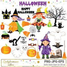 #Halloween clipart for 2017