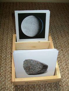 Montessori astronomy unit