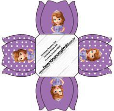 Forminhas Docinhos Princesa  Sofia da Disney: