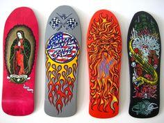 Jason Jessee Santa Cruz series. Old School Skateboards, Skate Art, Skateboard Decks, Skateboarding, Surf, Childhood, Awesome, Ideas, Santa Cruz