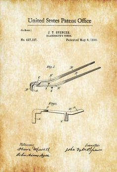 Image result for 1890 blacksmith tongs