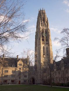 Branford College at Yale University; used to have a weekly seminar in the first-floor lounge of the Carillon