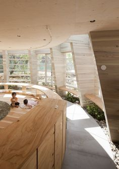 UID Architects have designed a nursery school in Hiroshima, Japan.