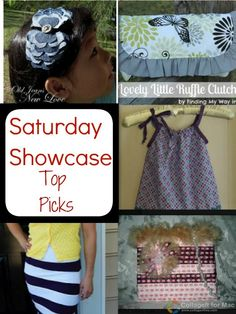 Feature Friday: Top Fashion Saturday Showcase Picks