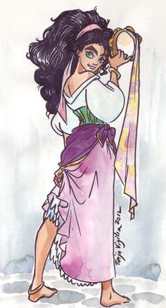 Taija's Drawing Board All Disney Princesses, Disney Princess Art, Disney Films, Disney Fan Art, Disney Characters, Draw Disney, Disney And Dreamworks, Disney Pixar, Disney Dream