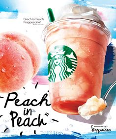 スターバックス コーヒー on Starbucks Specials, Starbucks Menu, Starbucks Promotion, Frappuccino, Menu Design, Food Design, Coffee Advertising, Starbucks Advertising, Advertising Poster