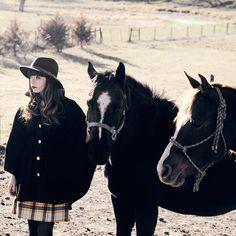 HORSE AND I. (by Rachel-Marie Iwanyszyn) http://lookbook.nu/look/4286777-HORSE-AND-I