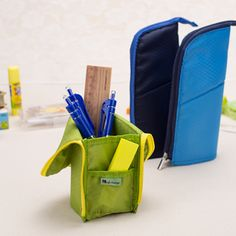 2015 New korea multifunction pencil case stand pencil bag school supplies stationery school pencil case for girls boys-in Pencil Cases from Office & School Supplies on Aliexpress.com | Alibaba Group