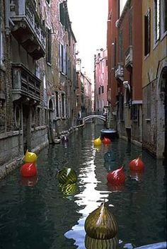 chihuly in venice what a great location. Wonder how they feel about this, in Murano????  Hehehe