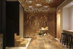 Cinco Jotas, Madrid, 2015   Tarruella Trenchs Studio Decken, Industrie Stil  Restaurant,