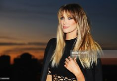 Delta Goodrem poses during the Voice Live Finals Show Launch on July 29, 2015 in Sydney, Australia.