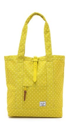 Herschel Supply Co. Market Tote Like this bag for work but in another color.
