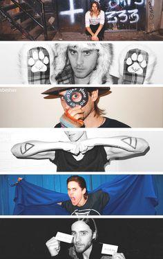 Jared Leto + Terry Richardson