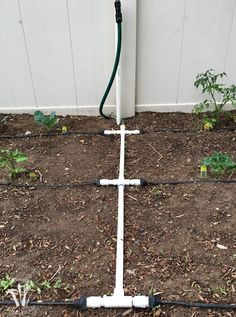 Ever wondered how to install a drip watering system for the garden? It is really easy to do and makes watering your garden so easy. Check out this great tutorial! Drip Watering System, Garden Watering System, Drip System, Garden Irrigation System, Irrigation Systems, Indoor Greenhouse, Greenhouse Ideas, Cheap Greenhouse, Low Maintenance Garden Design