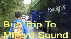 Bus trip to Milford sound, New Zealand It was our third day in Queenstown, we planned to visit Milford sound. Milford sound is one of most beautiful and icon. Milford Sound, Bus Travel, New Zealand, How To Plan, News, City