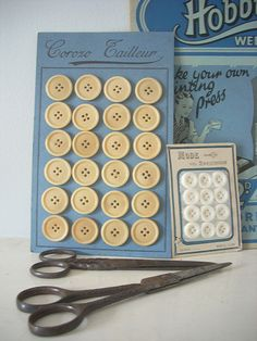 Vintage haberdashery by Raggedroses, via Flickr