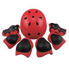 TOPCABIN Protective Gear Set Adult Adjustable Universal Knee Pads Elbow Pads Wrist Guard Safe Guard Pads for Inline Roller Skating Bicycle BMX BIKE Skateboard 6PCS