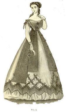 1860 S Vert guerre civile uniforme Victorien Robe De Bal Southern Belle Costume robe F