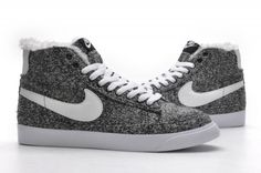Nike Blazer high HOMME Gris NBH07