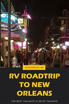 Headed to the Sugar Bowl? Have fun in New Orleans! Let the good times roll in the French Quarter in New Orleans, Louisiana! Travel Hack, Rv Travel, Travel Info, Family Travel, Adventure Travel, Travel Tips, Time Travel, Travel Trailers, Canada Travel