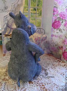 Puppen und handgefertigte Spielwaren.  Hippo Tante Motja))).  Svetlana Kanochkina, Firefly und K. Messe Masters.  Lush, Pappmaché