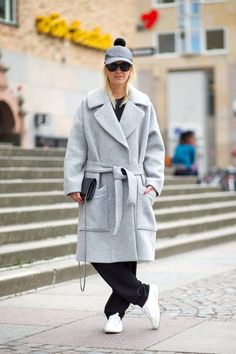 10 ways to style your coat this winter.