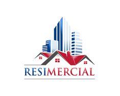 Generic and overused logo designs sold - Resimercial Building Logo, Architect Logo, Gene Tierney, Construction Logo, Real Estate Logo, Travel Logo, Samurai, Buildings, Logo Design
