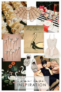 The Makerista: Swan Lake: Invites and Inspiration