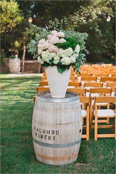 54 Ideas For Wedding Flowers Rustic Chic Wine Barrels Rustic Wedding Alter, Rustic Wedding Foods, Rustic Wedding Flowers, Rustic Wedding Dresses, Chic Wedding, Wedding Ideas, Wedding Ceremony, Wedding Advice, Wedding Receptions