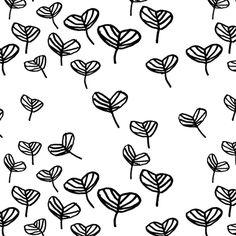 Sylvia Tva Leaf White | Lotta Jansdotter Shop