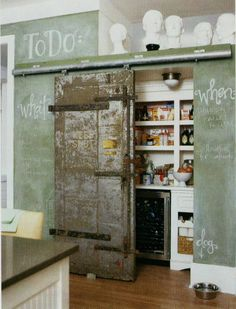 if only there were room in my kitchen to build a pantry like this...
