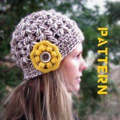 Olathe Crocheted Hat Crochet Pattern