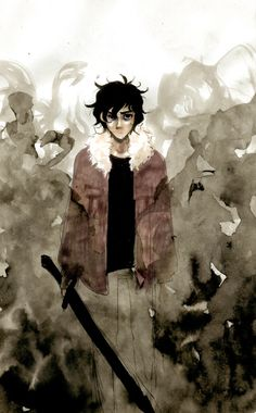 Nico di Angelo | art by caffeinechick (Artwork)