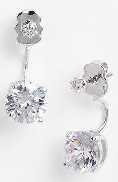 cool - drop back earrings - float beneath your earlobe