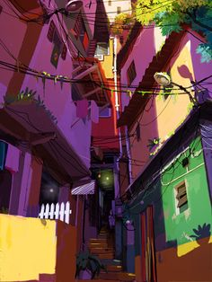 CATSUKA - Artworks of french animated TV series project...