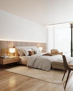 Modern Luxury Bedroom, Master Bedroom Interior, Modern Master Bedroom, Room Design Bedroom, Bedroom Furniture Design, Modern Bedroom Design, Home Room Design, Minimalist Bedroom, Luxurious Bedrooms