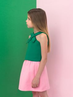 Spring Summer 2015 |SEÑORITA LEMONIEZ | green & pink...amazing combination!!