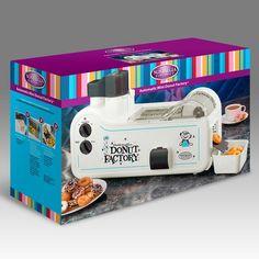 Fábrica Automática de Mini Donut Nostalgia Electrics