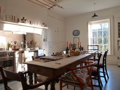 I think I pinned another shot of this kitchen before, not realizing it's Ben Pentreath's house in Dorset.