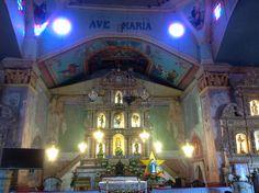 altar at baclayon church(catholic) at Bohol, Philippines