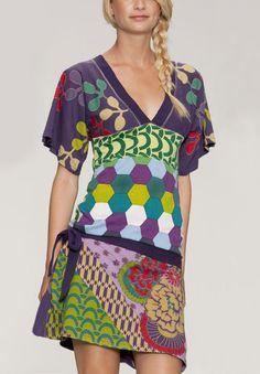 Desigual dress Jesica green M - Born2Style - Online Fashion Store