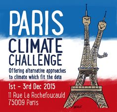 Josh writes:With COP21 coming up there is an alternative conference being organised. The Paris ClimateChallenge In 2009 we laid down the Copenhagen Climate Challenge, when we asked UN Secretary-G...