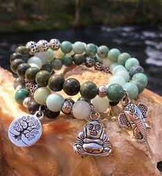 Excited to share the latest addition to my #etsy shop: Yoga Bracelet Stack - Yoga Stack Bracelet - Stack Bracelet Sets - Beaded Yoga Bracelet - Gemstone Bracelet Set -  Amazonite Bracelet