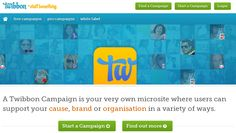 A Twibbon Campaign is your very own microsite where users can support your cause, brand or organisation in a variety of ways.