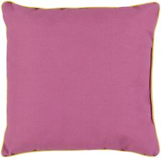 Surya Bahari Throw Pillow Purple, Yellow