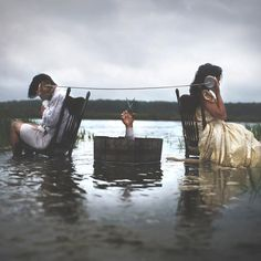 Conceptual and Fine Art Portrait Photography by Nicolas Bruno #inspiration #photography