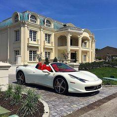 Ferrari & A Mansion Pinterest: @entmillionaire