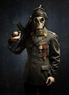 Gasmask Series on Behance Gas Mask Art, Masks Art, Gas Masks, Post Apocalyptic Art, Steampunk, Apocalypse Art, Airsoft Mask, Surrealism Photography, Chernobyl